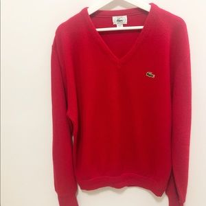 Vintage Izod Lacoste Pullover Men's Sweater